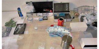 """In der Wohnung des Tatverdächtigen fanden die Ermittler ein """"Sammelsurium"""" aus Utensilien für den Drogenhandel und -konsum."""