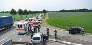 Übersichtsaufnahme Unfallstelle