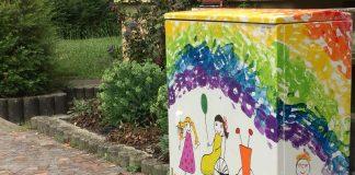 Kunst am Kasten (Foto: Stadtverwaltung Sinsheim)