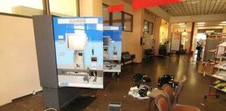 Aufgebrochene Bezahlautomaten