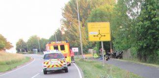 Unfallstelle tödlicher Vehrkehrsunfall Nieder-Olm