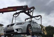 Endstation: Dieses Fahrzeug war nicht mehr verkehrssicher