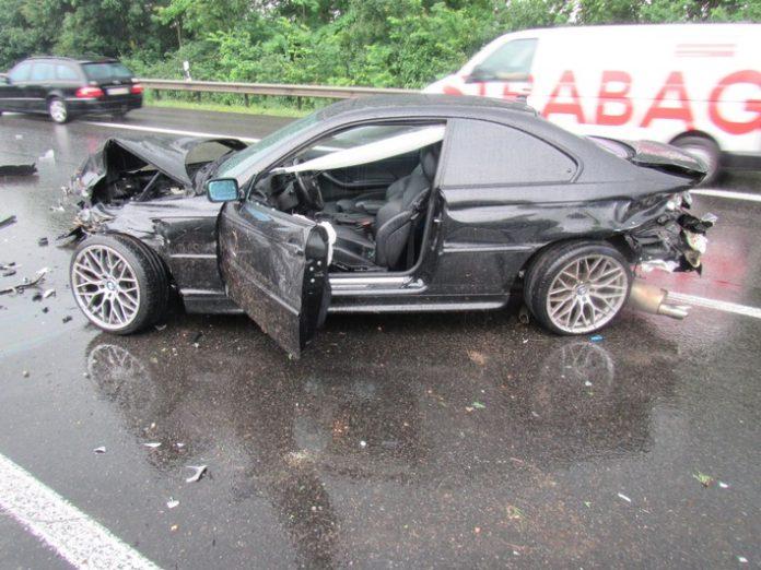 Unfall verursachendes Fahrzeug