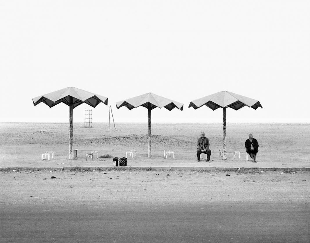 Ursula Schulz-Dornburg (*1938), Gyumi – Erevan (aus der Serie: Transit Orte, Armenien), 2001 44,7 x 34,8 cm, Bartyabzug, Städel Museum, Frankfurt am Main (Foto: Ursula Schulz-Dornburg)