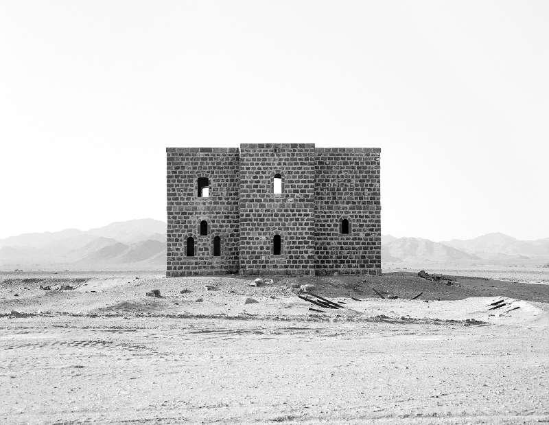 Ursula Schulz-Dornburg (*1938), Von Medina an die jordanische Grenze (aus der Serie: Von Medina an die jordanische Grenze), 2013 31,3 x 25,3 cm, Barytabzug, Archiv der Künstlerin (Foto: Ursula Schulz-Dornburg)