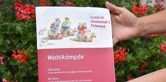 100 Jahre Frauenwahlrecht: In ganz Deutschland finden in diesem Jahr Veranstaltungen statt, um dieses historische Datum zu würdigen. So auch am kommenden Sonntag, 22. Juli, bei den Musikalischen Goetheparkplaudereien der Stadt Landau. (Foto: Stadt Landau in der Pfalz)