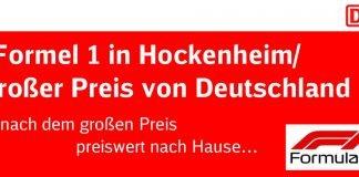 Plakat Formel1 Hockenheim