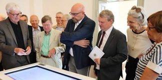Dank Förderverein und Lions-Club kann das Weinheimer Museum die Geschichte der Stadt jetzt multimedial darstellen (Foto: Stadt Weinheim)