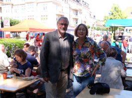 Andrea Manz mit Arne Krohn