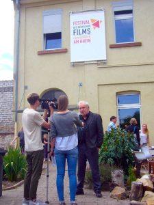 Programm-Pressekonferenz des Festivals in Friesenheim (Foto: Hannes Blank)