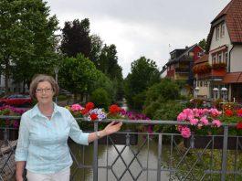Stadtrundgang mit Heide-Marie Kaiser (Foto: Stadtverwaltung Sinsheim)