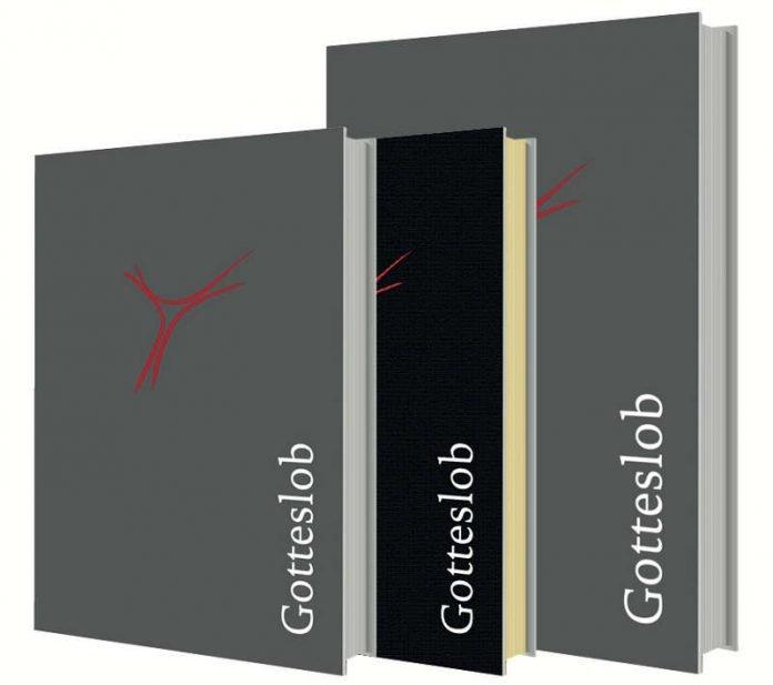 """Die zweite Auflage des """"Gotteslob"""" erscheint als Standardausgabe (links) und als Großdruckausgabe (rechts). Die Schmuckausgabe (Mitte) kann noch in der Erstauflage bezogen werden. (Quelle: Bistum Speyer)"""