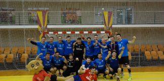 Gold ging an die Uni Bochum Herren 3 im Handball (Foto: adh)