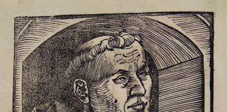 Porträt Martin Luther (Copyright: LBZ, Signatur: Th. u. 205)