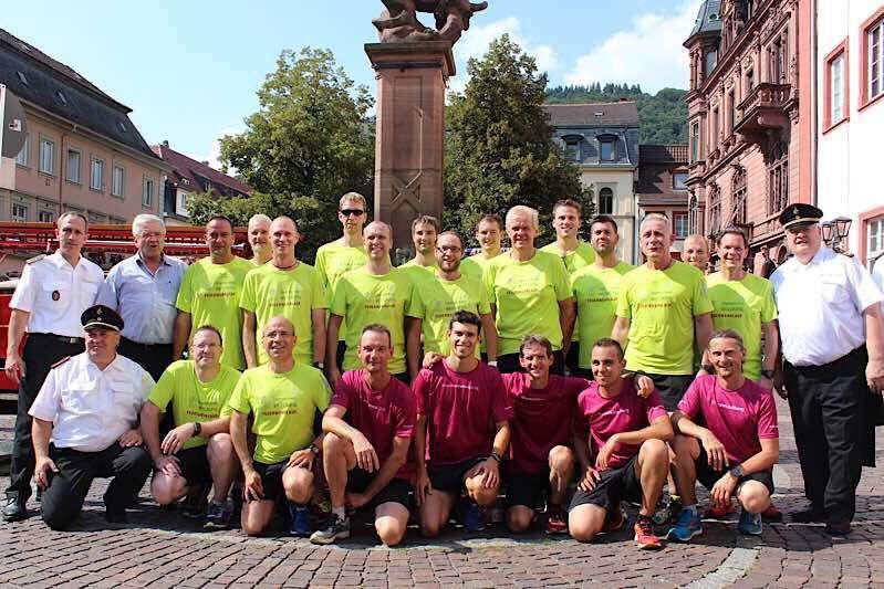 Gruppenfoto (Foto: Berufsfeuerwehr Heidelberg)