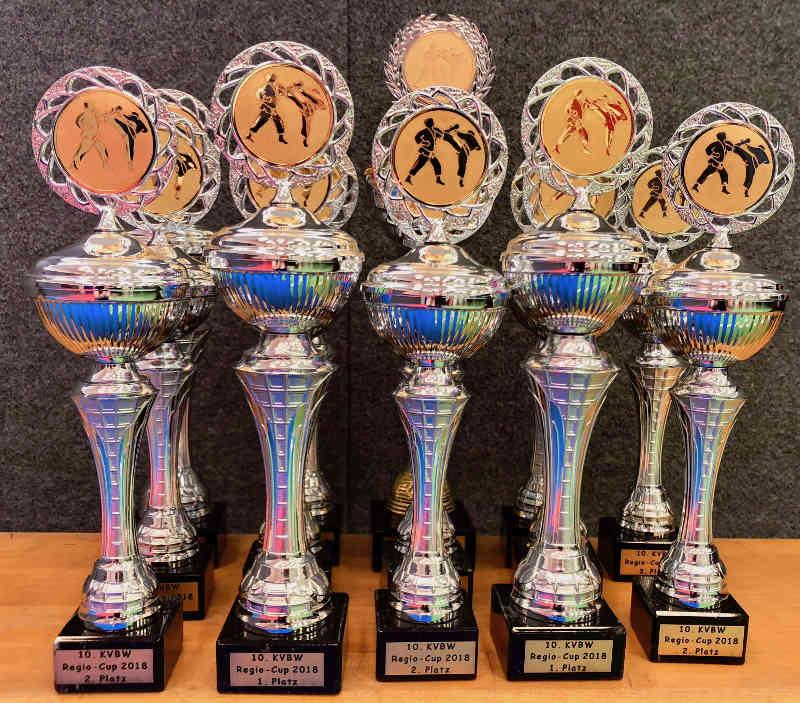 Die Pokale (Foto: BCRN)