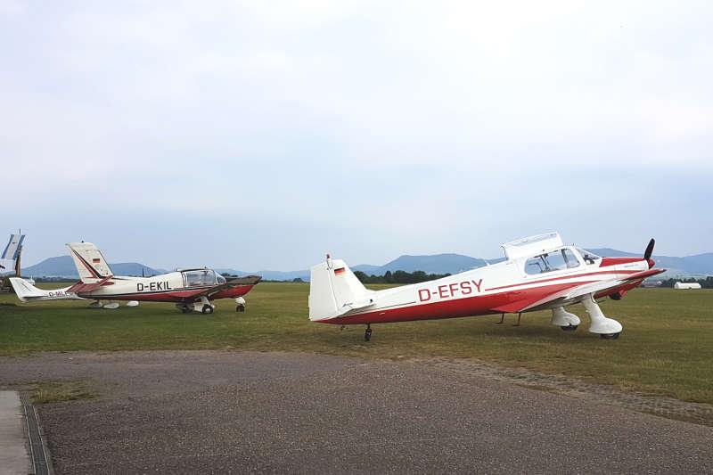 Faszination Fliegen: Auf dem Landauer Ebenberg fanden jetzt die Segelflug-Qualifikationsmeisterschaften für die Deutschen Meisterschaften im Jahr 2019 statt. (Foto: Stadt Landau in der Pfalz)