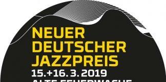 """Logo """"Neuer Deutscher Jazzpreis Mannheim 2019"""" (Quelle: IG Jazz)"""