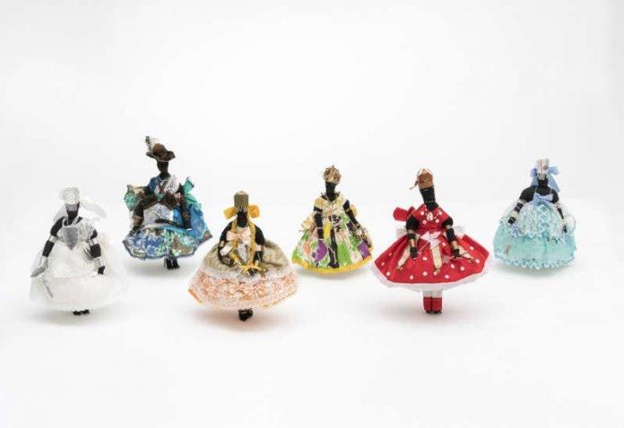 Orixa-Textilpuppen aus der Sammlung des Weltkulturen Museums (Foto: Wolfgang Günzel)