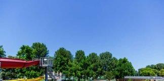 Das Rheinstrandbad Rappenwört ist eines der landschaftlich schönsten und größten Bäder Deutschlands (Foto: Karlsruher Bäder GmbH)