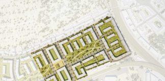 Das geplante Schönhof-Viertel in Bockenheim, Draufsicht (Quelle: Instone Real Estate)