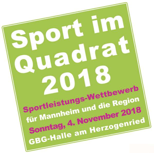 Logo 'Sport im Quadrat' (Quelle TG Mannheim)