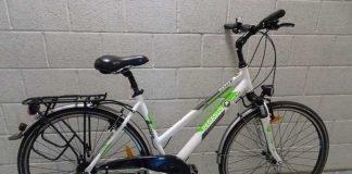 Sichergestelltes Fahrrad Marke Pegasus