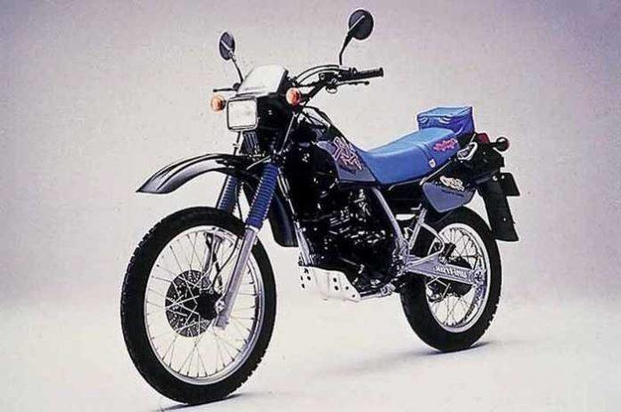 Vergleichsbild Modell Kawasaki KLR 250