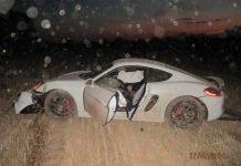 Unfallbeteiligter Porsche