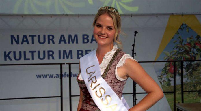 Die neue Frankfurter Apfelweinkönigin: Gestatten, Ihre Hoheit Larissa I. (28 J.) (Foto: BALLCOM)