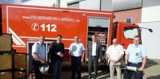 Neue Ausrüstung für den Rüstwagen (Foto: Kreisverwaltung Südliche Weinstraße)