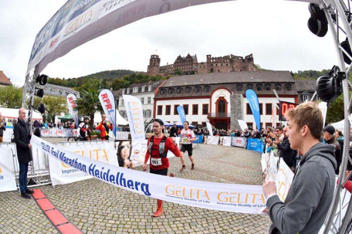 Start- und Zielbereich in der Heidelberger Altstadt (Foto: PIX Sportfotos)