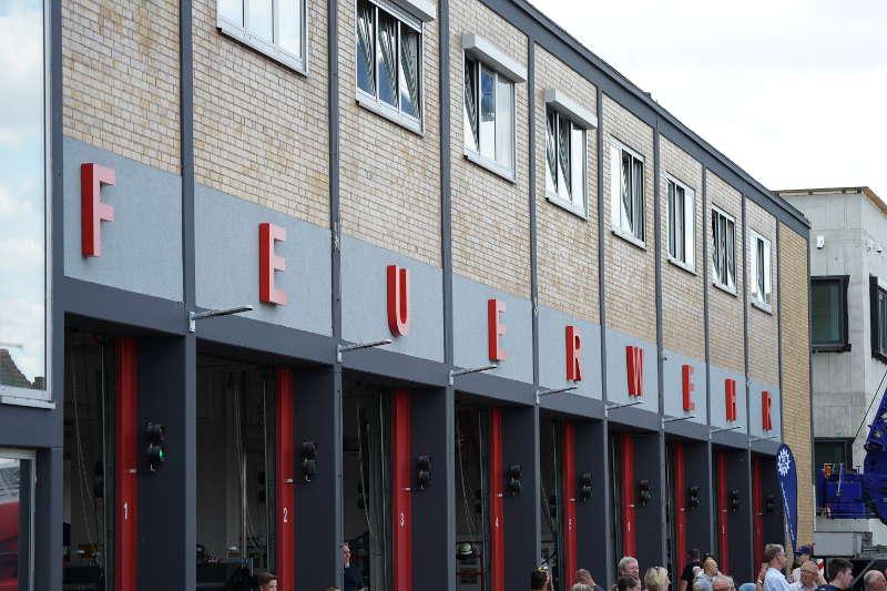 Die Hauptfeuerwache in LU-Mundenheim (Foto: Holger Knecht)