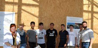 Die Jugendlichen bauten ebenfalls zwei Modelle des Hauses im Maßstab 1: 40 (Foto: VSG)