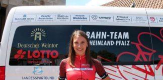 Miriam Welte aus Otterbach bei Kaiserslautern möchte bei der Bahnrad-EM in Glasgow ihren Titel verteidigen (Foto: Michael Sonnick)