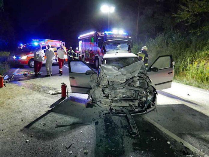 Eine Person wurde getötet (Foto: Feuerwehr Darmstadt)