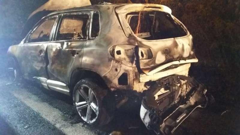 Der VW Tiguan (Foto: Polizei RLP)