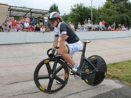 Die amtierende Weltmeisterin und Olympiasiegerin Miriam Welte geht am 16. August auf der Radrennbahn in Ludwigshafen-Friesenheim an den Start (Foto: Michael Sonnick)