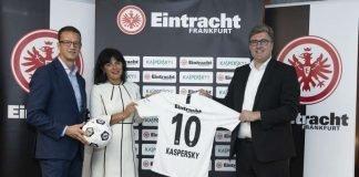 Kaspersky Lab Announces Sponsorship Of Eintracht Frankfurt (Foto: 2018 Getty Images/Christoph Koepsel)