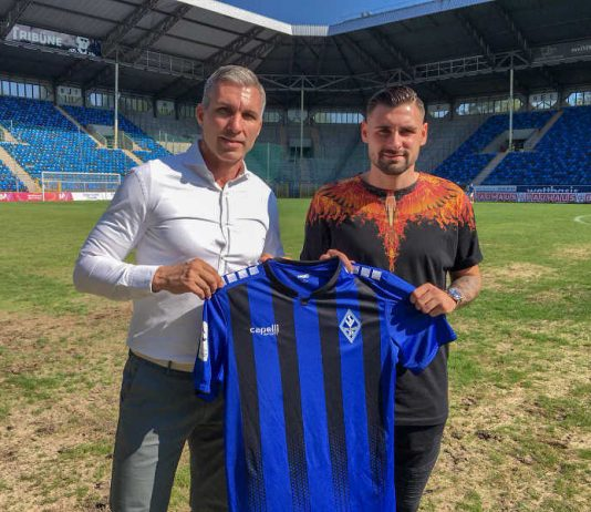 Jochen Kientz und Marcel Hofrath (Foto: SV Waldhof Mannheim)