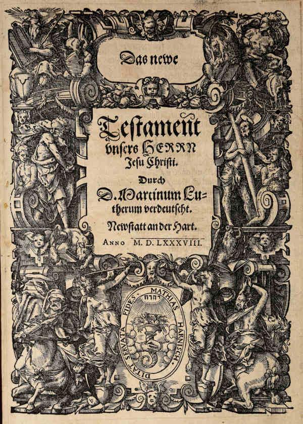 NW Bibel 1588 Cover NT
