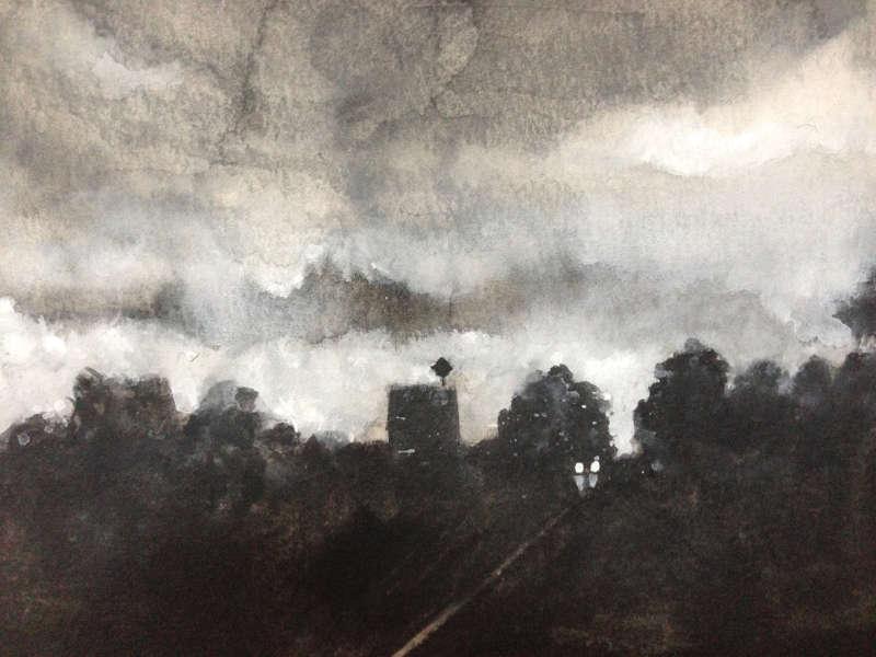 """""""Nachtfahrt"""" von Markus Magenheim"""