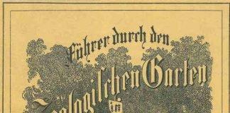 Titelblatt Zooführer 1860 (Quelle: Zoo Frankfurt)