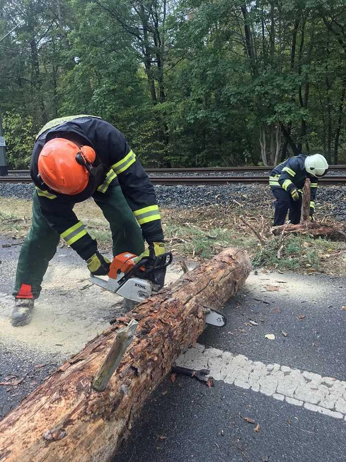 Feuerwehr Darmstadt im Unwettereinsatz