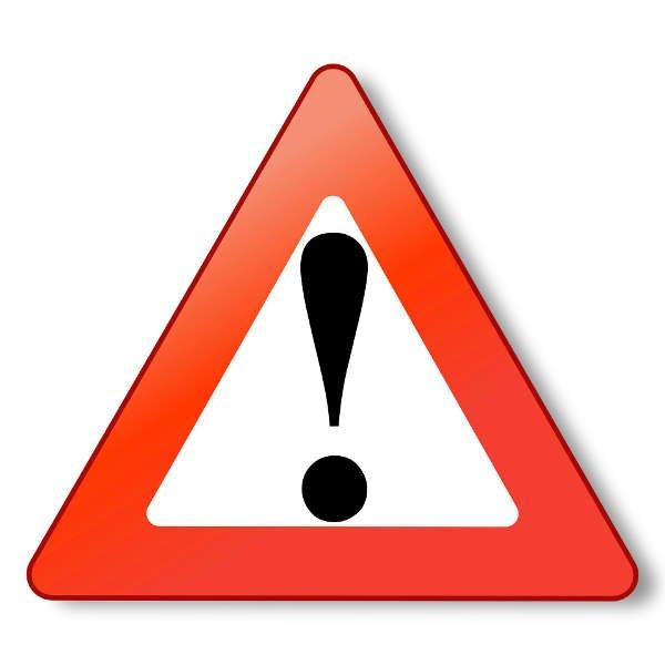 Symbolbild Warnung Schild (Foto: Pixabay)