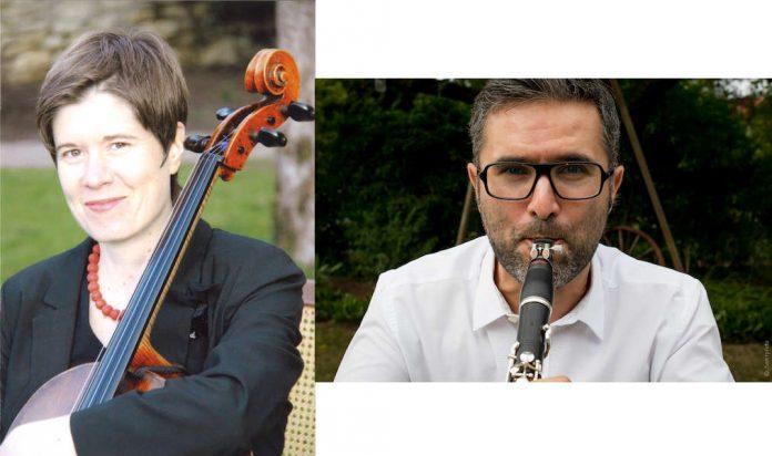Traudl Herrmann (Violoncello) (Foto: privat) und Samir Müller (Klarinette) (Foto: Nadine Obenauer Samtpfoto)