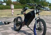 Sichergestelltes E-Bike