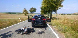 Übersichtsaufnahme der Unfallstelle