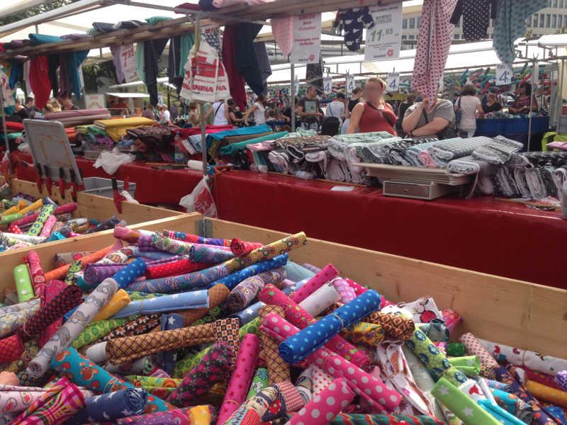 Ludwigshafener Stoffmarkt (Foto: LUKOM)