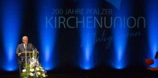 Bundespräsident a.D. Joachim Gauck (Foto: Landeskirche/view/Joachim Ackermann)